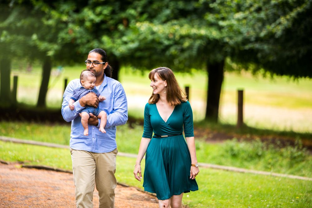 Outdoor Family Portrait Photography Nottingham