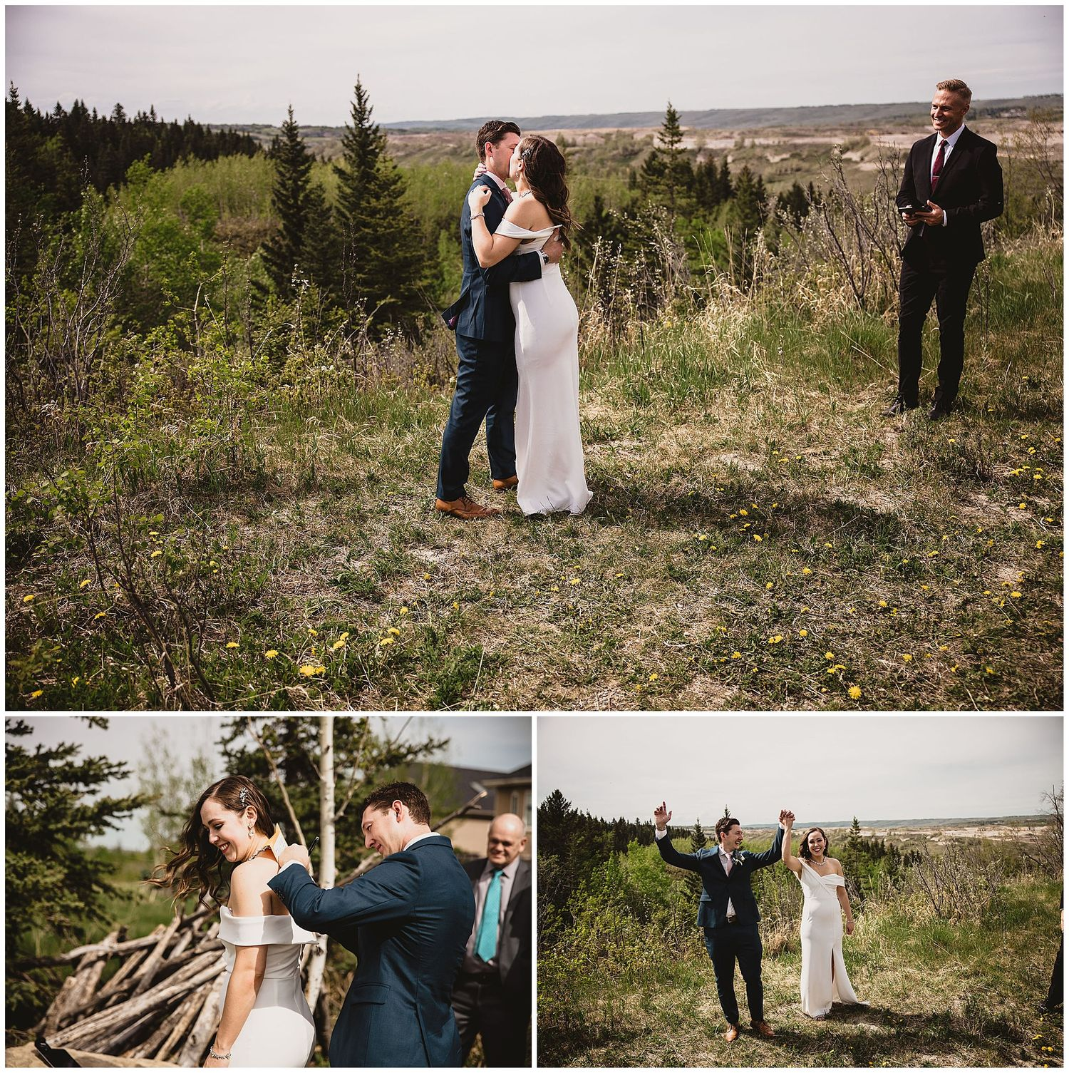 I still do calgary covid bride wedding photographer