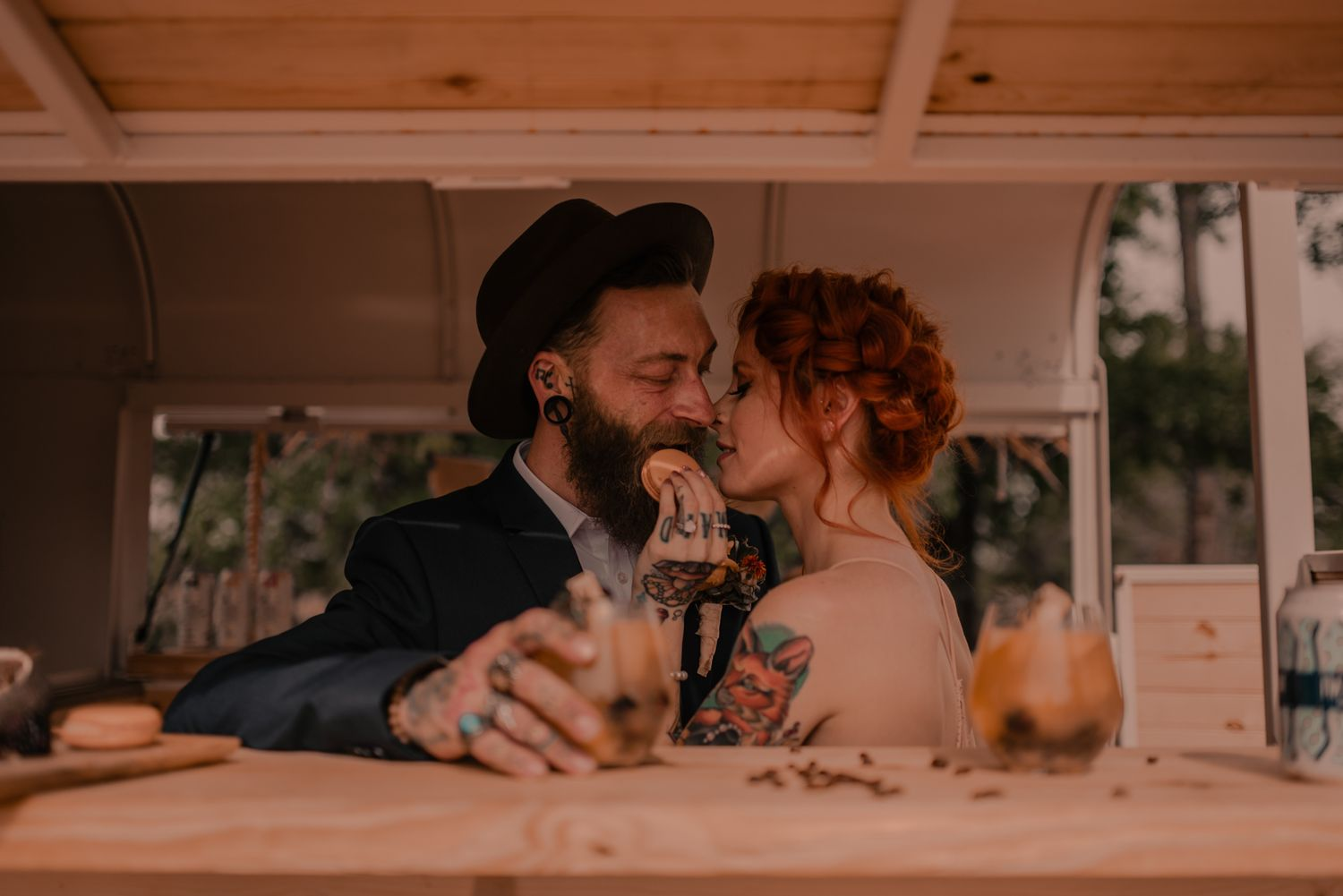 elopement mobile bar
