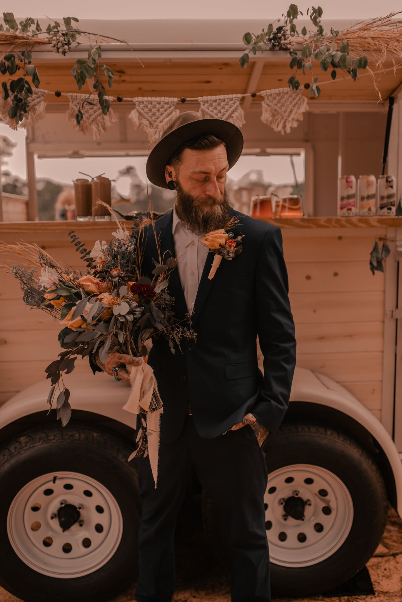 elopement groom