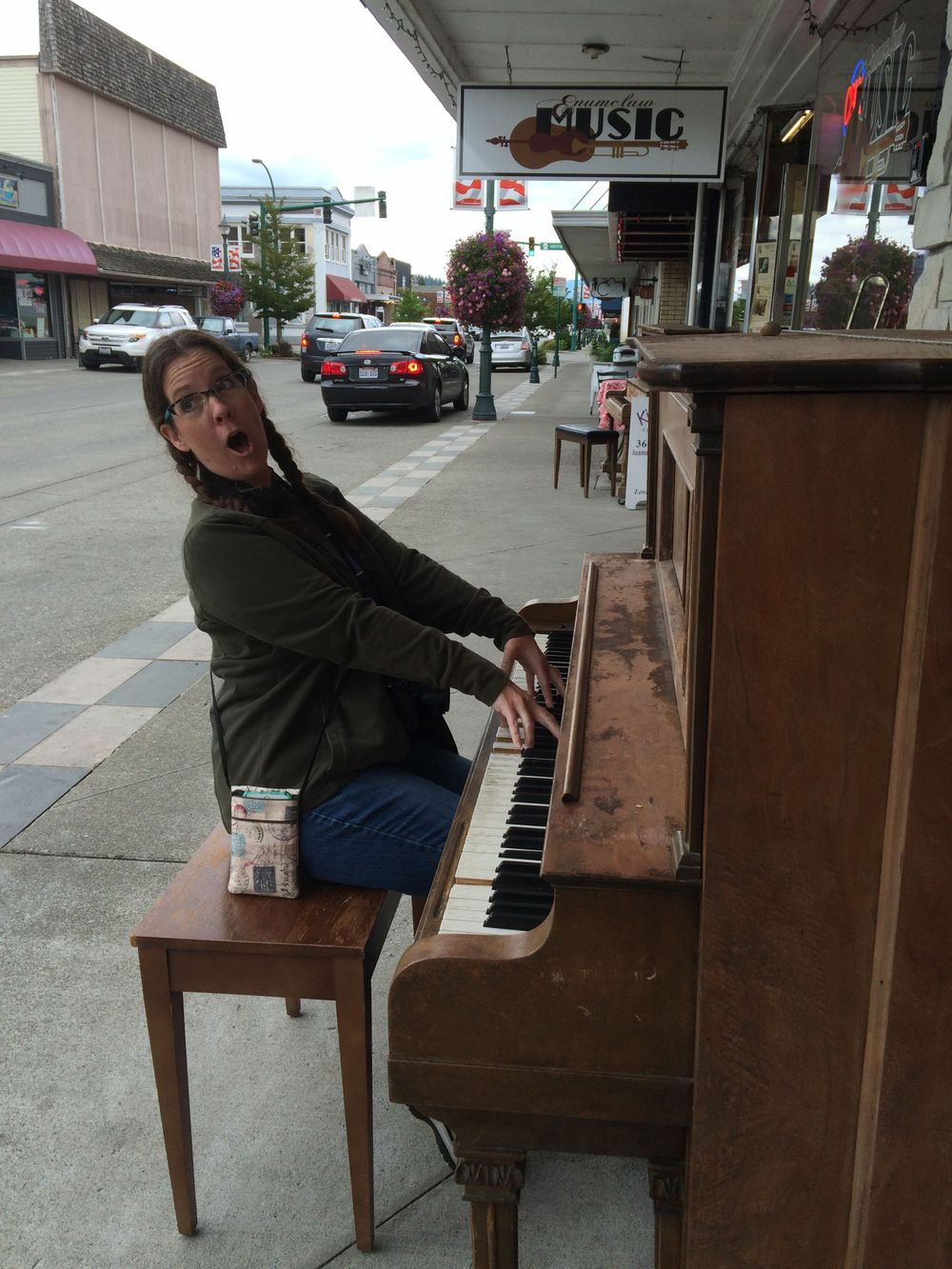 Tapestry Photographs, About Joy Neel, piano, Seattle, street photography