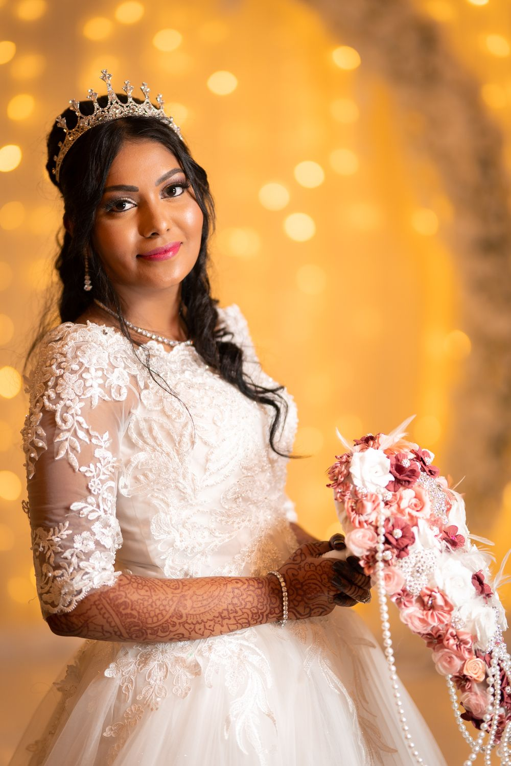 media king indian hindu muslim bride bokeh wedding photography and wedding videography in Durban KZN
