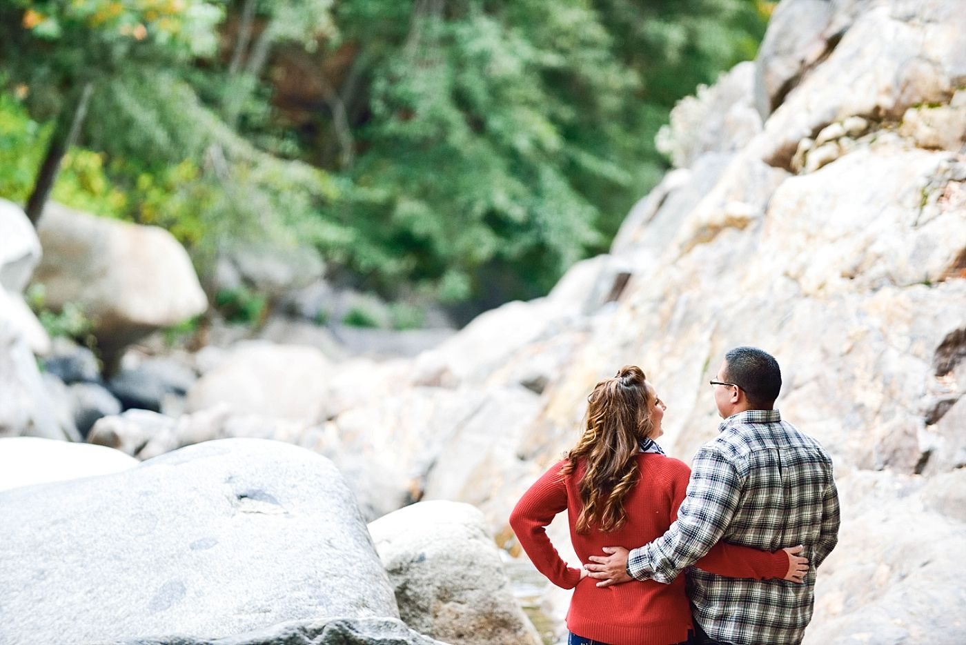 sequoia national park adventure engagement photography session