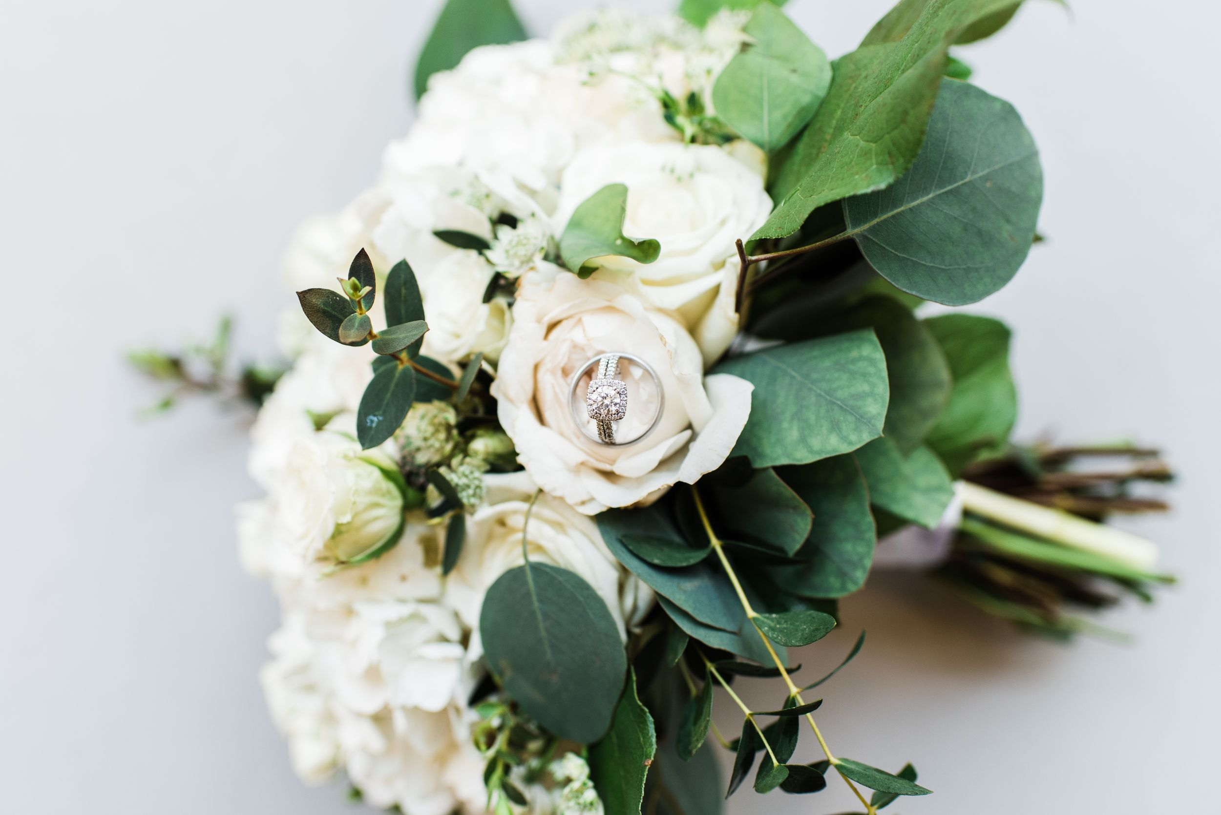 wedding photography, wedding, bouquet, ring, ring shot, bridal bouquet, bridal, roses