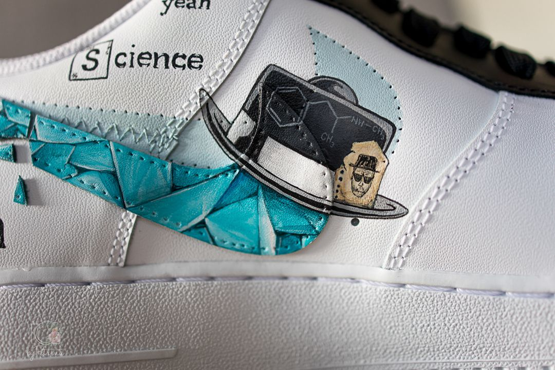 Close up of trainers