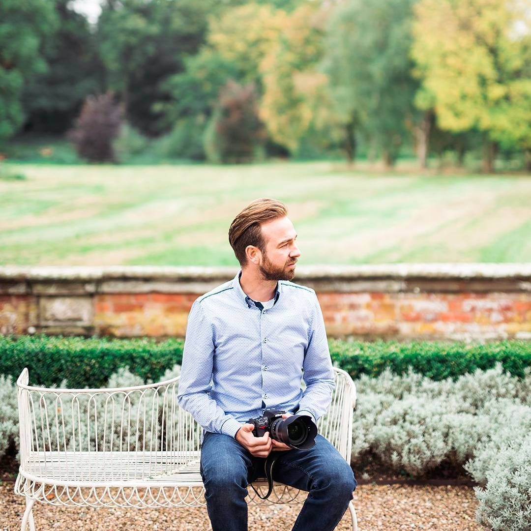 James Noble photography hanging out in the Iscoyd Park Garden