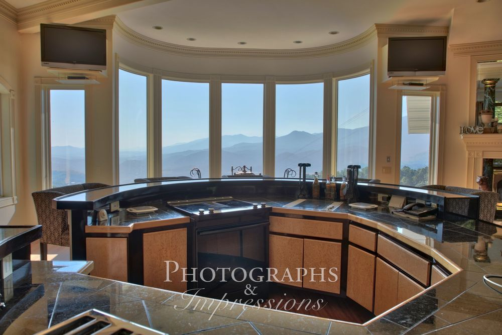 real estate photograph of destiny chalet bay window by Photographs and Impressions and Nunweiler Photography