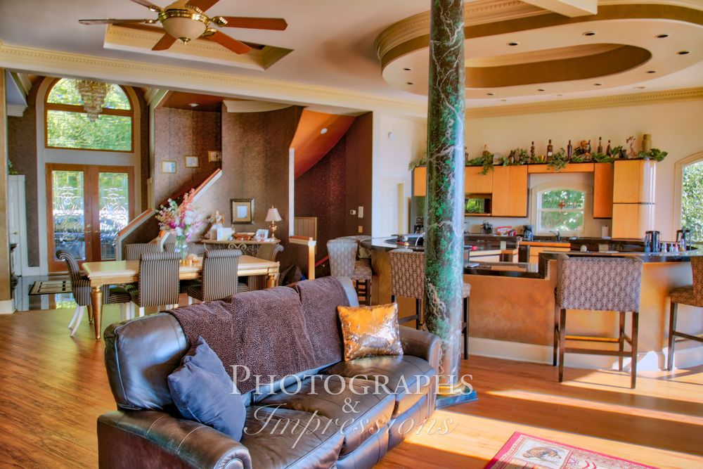 real estate photograph of destiny chalet kitchen by Photographs and Impressions and Nunweiler Photography