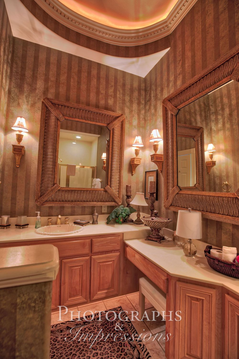 real estate photograph of destiny chalet bathroom by Photographs and Impressions and Nunweiler Photography