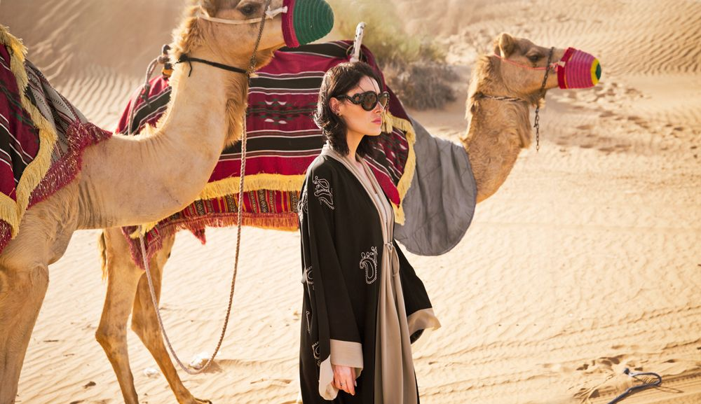 fashion, editorial, portrait, abaya, female photographer, dubai, photography, portraits, model, campaign,