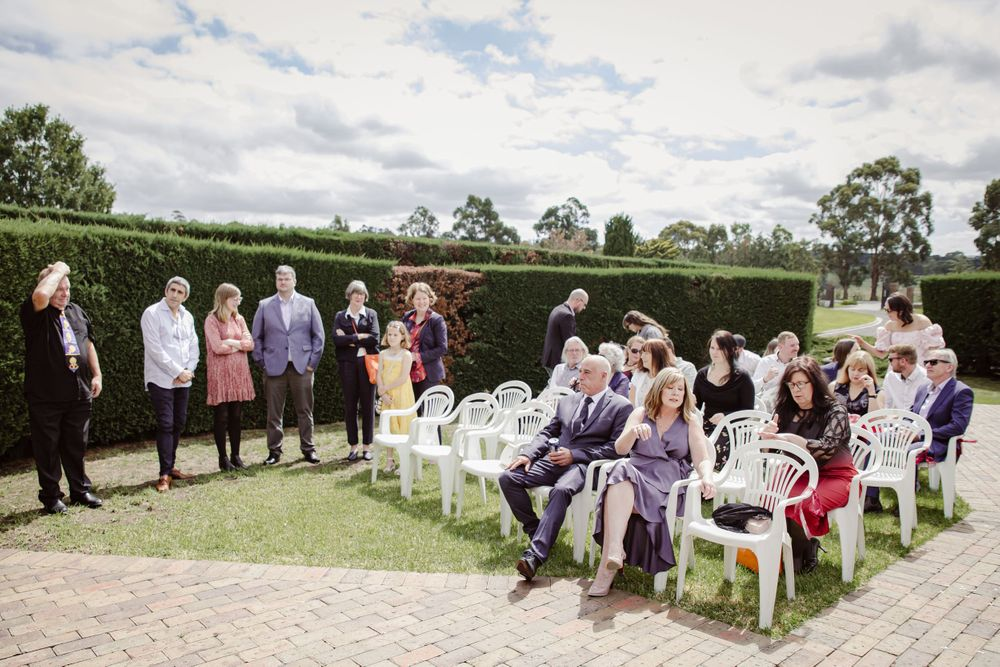 whitehaven receptions outdoor wedding summer melbourne whittlesea photographer