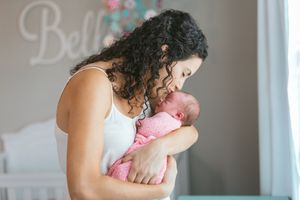 lifestyle Richmond newborn photography