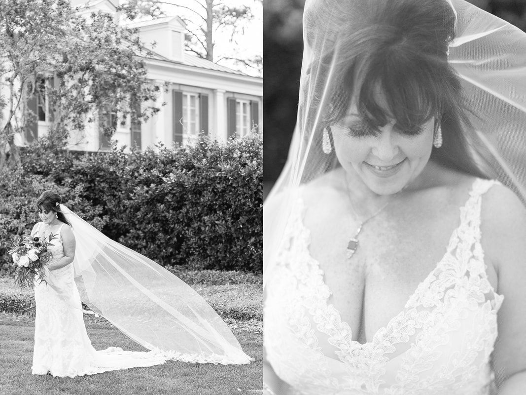 wedding at the beaufort inn and oldfield plantation in south carolina with ivory and beau