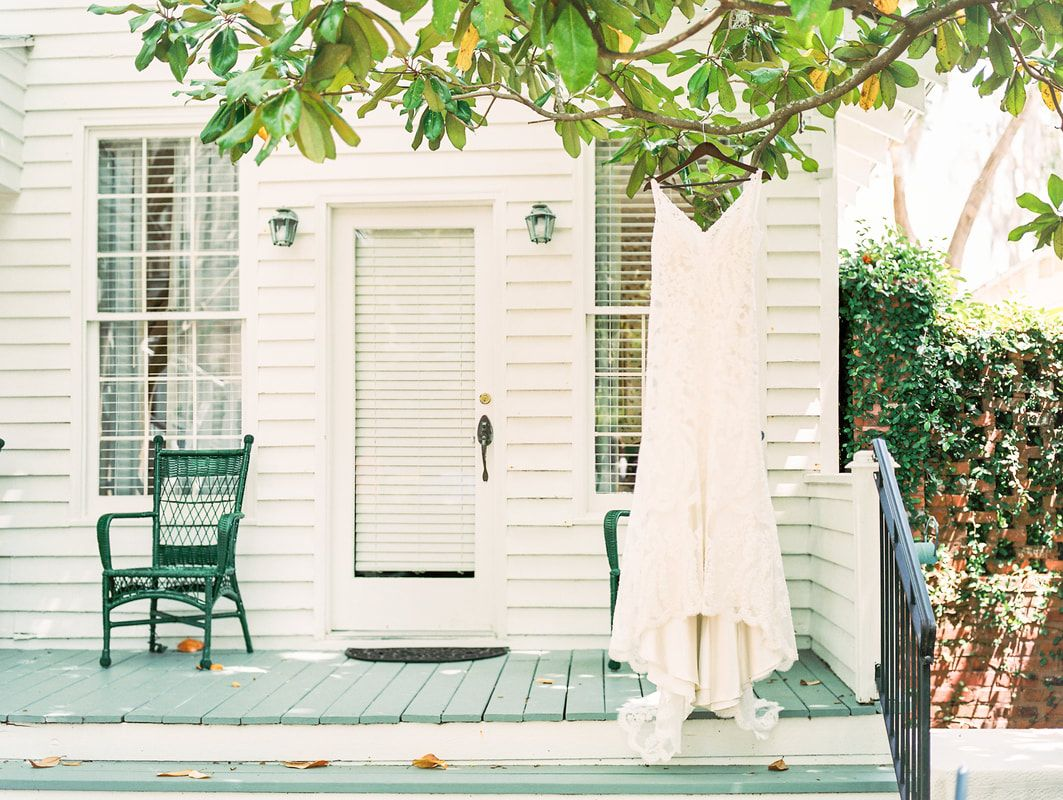 wedding at the beaufort inn and oldfield plantation in south carolina