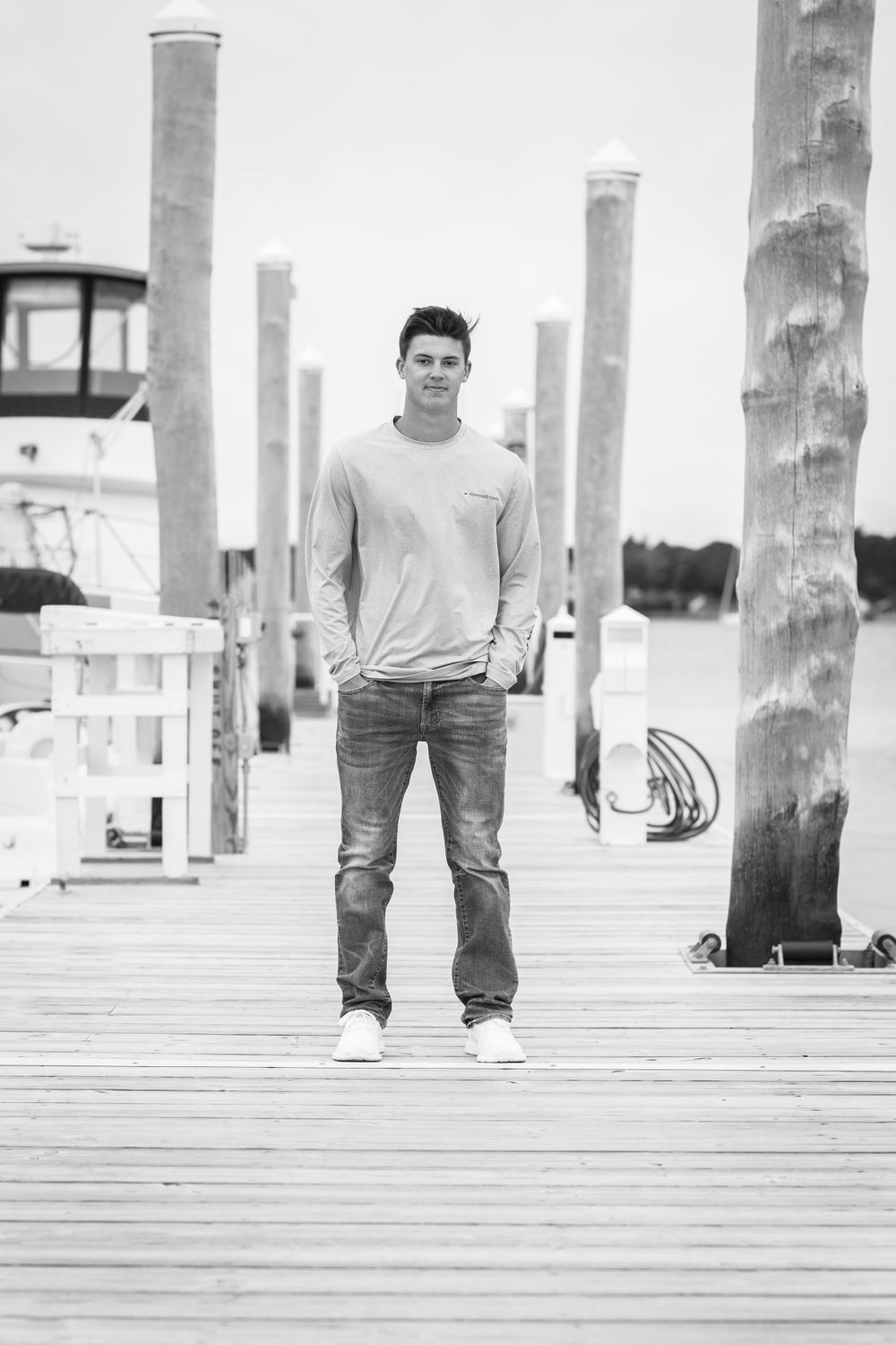 Cape Cod Senior Portrait Picture