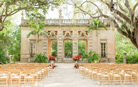 VIZCAYA MUSEUM & GARDENS MIAMI is on Faye Amare's wedding venue bucket list