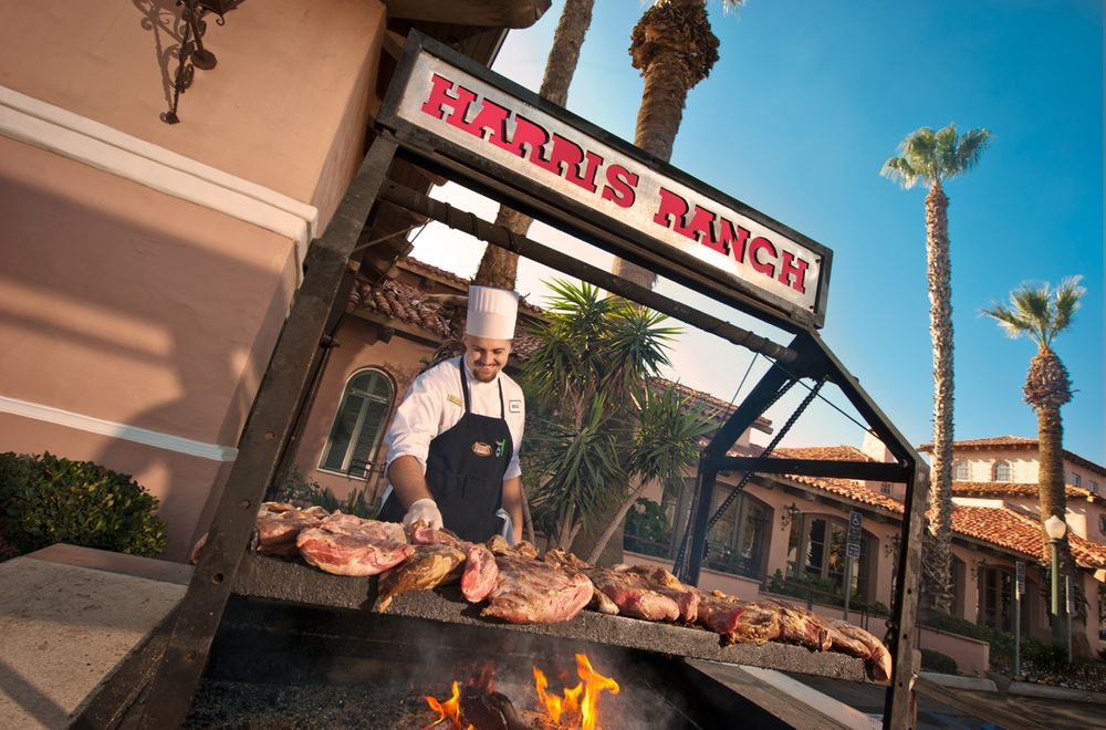 Chef, grilling, food & beverage, Harris Ranch