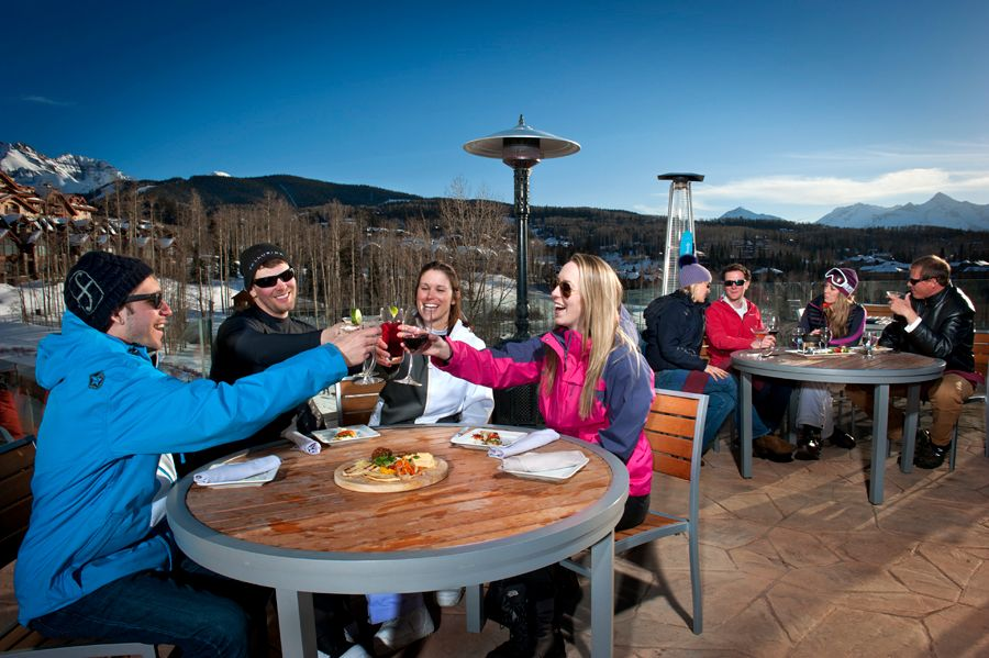 Apre ski, happy hour, Telluride, Peaks Resort