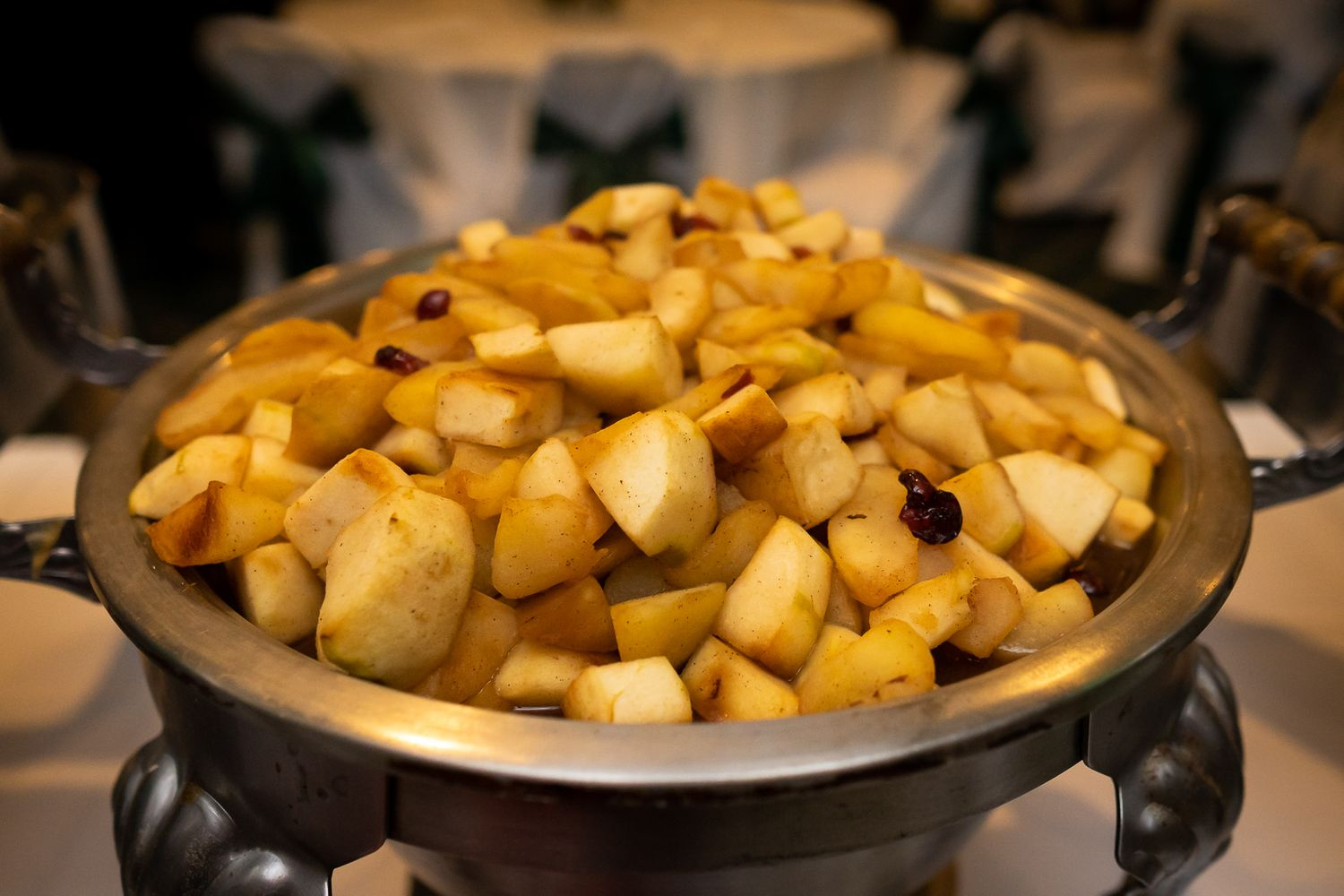 not your traditional wisconsin wedding food- apple chutney