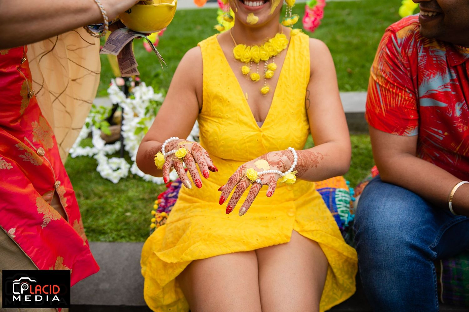 haldi become a popular medicine in indian culture and indian weddings. indian photographer in long island