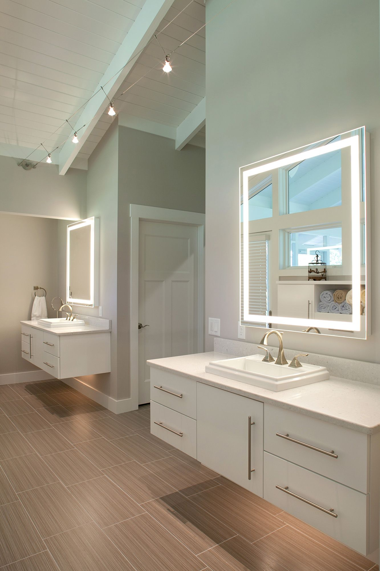 Photo of bathroom by Residential Architecture photographer in Cincinnati