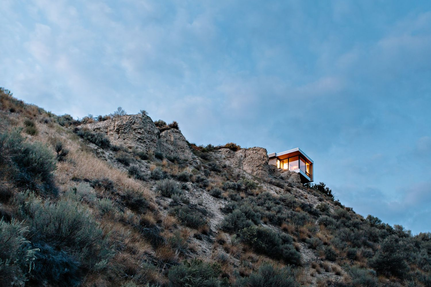 studio on a cliff