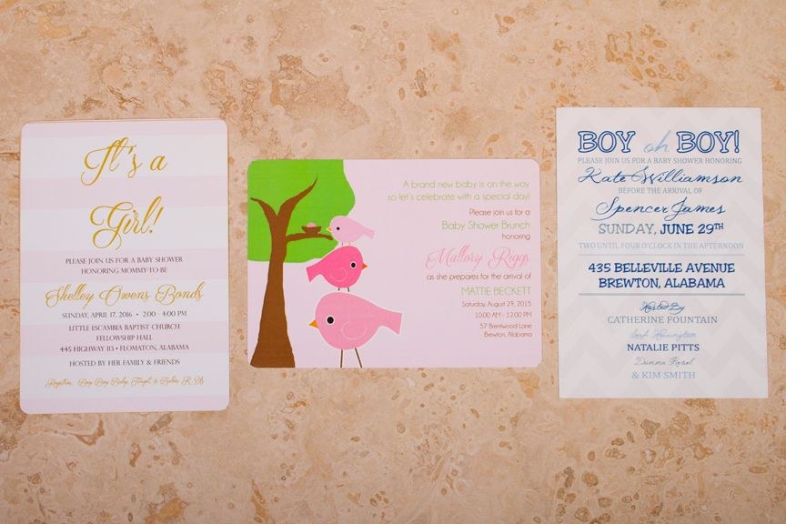 Baby Brunch Invitations