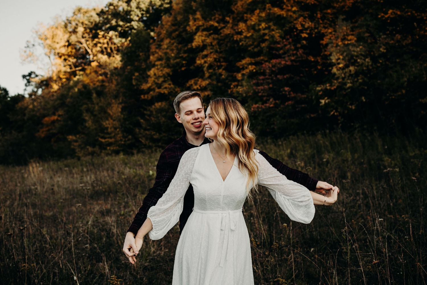 Highbanks Metro Park Engagement Photos