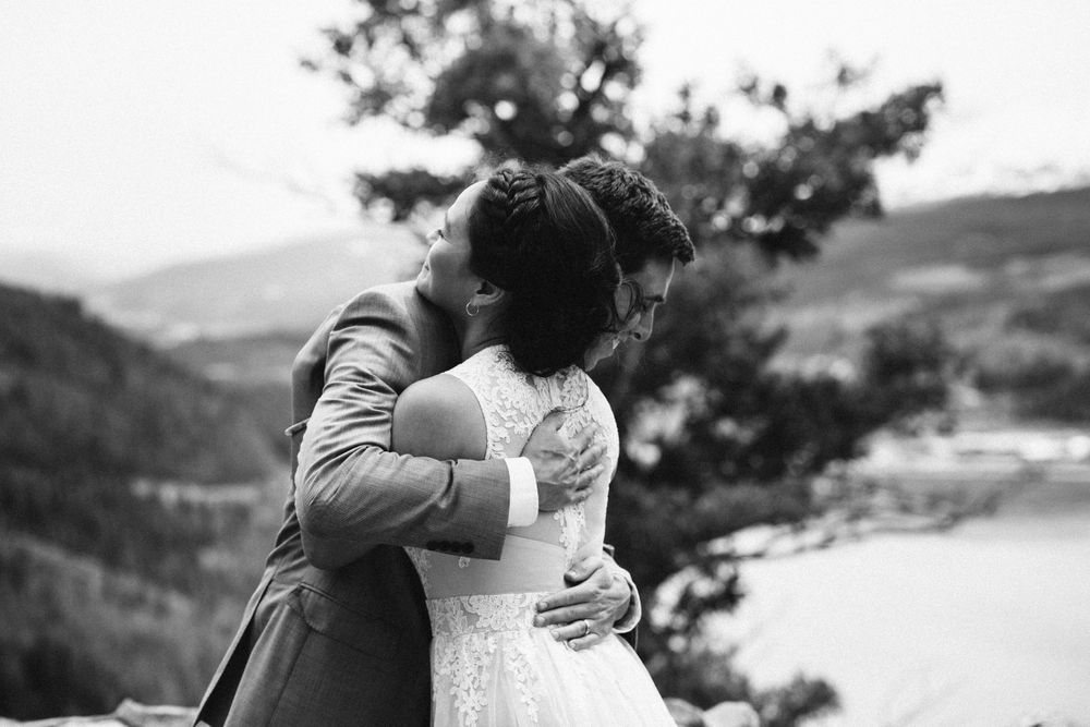 black and white wedding portraits colorado