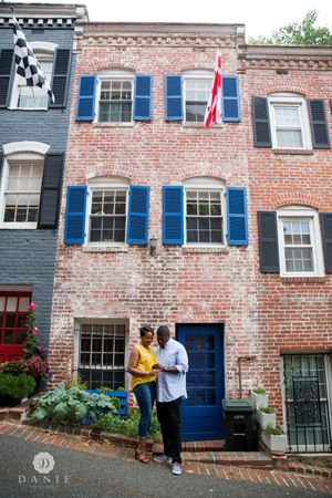 Georgetown DC Engagement | DANIE Photography
