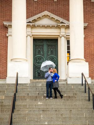 Maryland State House | Annapolis, MD | Engagement Photos | DANIE Photography