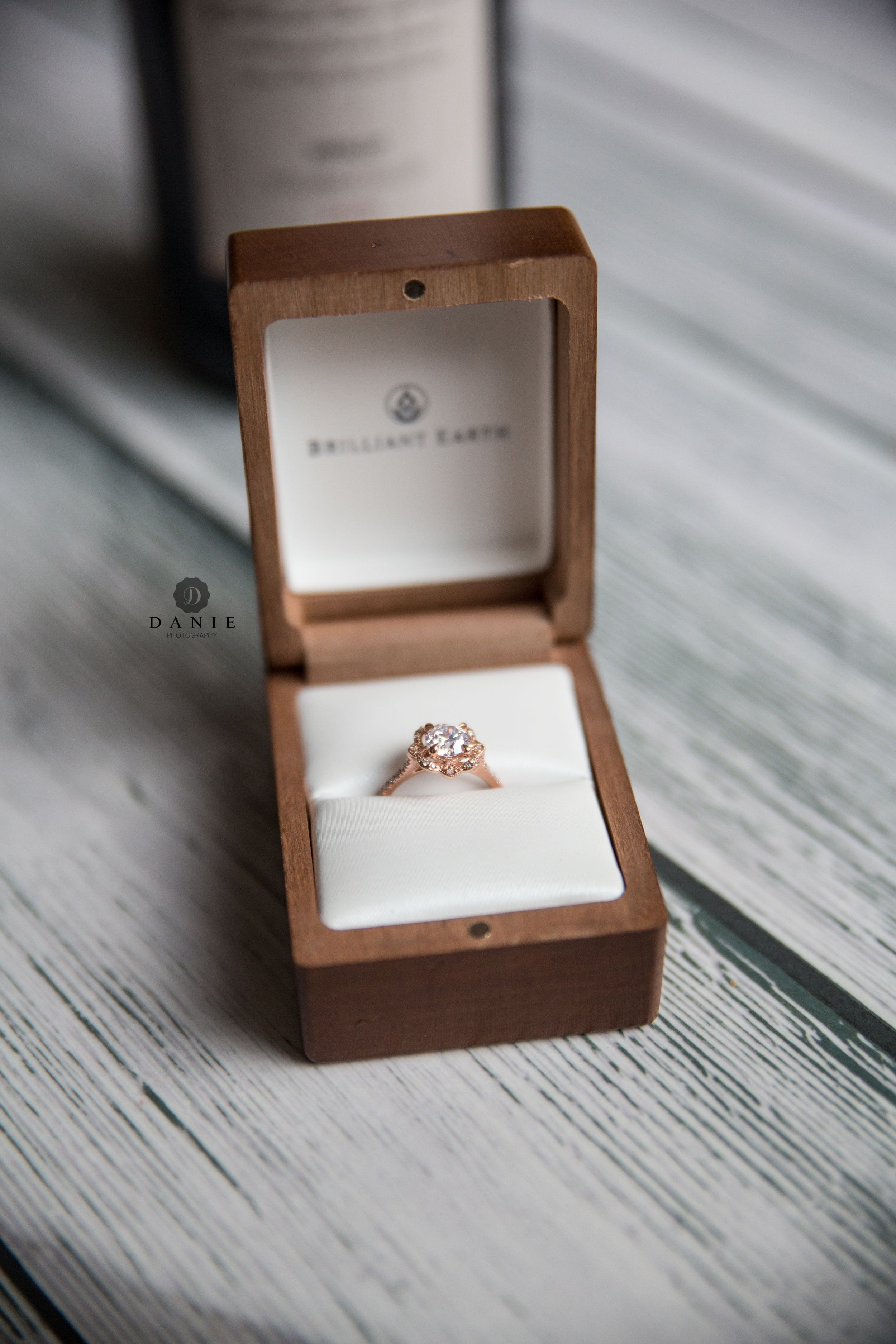 Brilliant Earth Engagement Ring | Maryland Engagement Photos | Surprise Proposal Photography