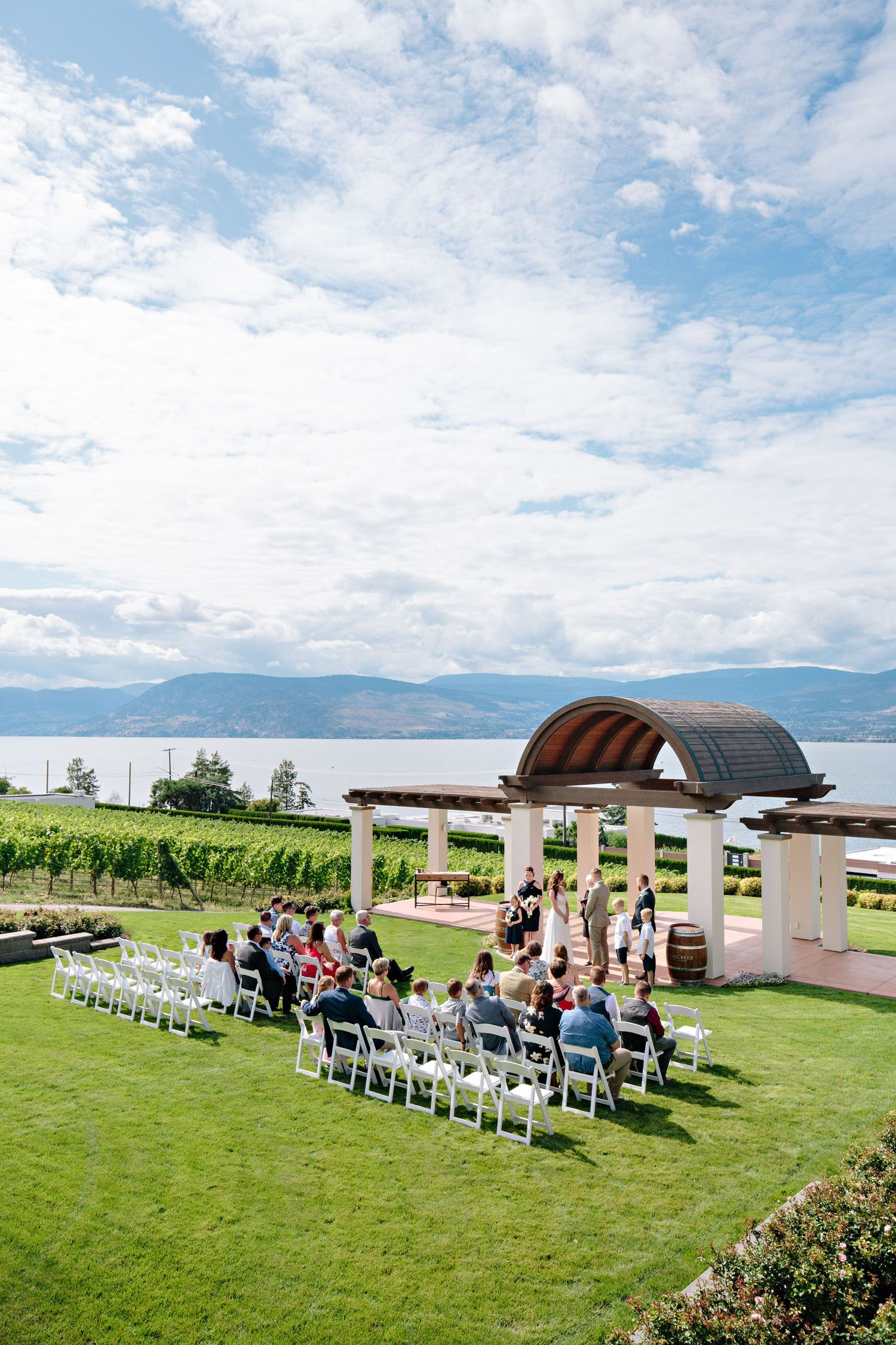 CedarCreek Winery ceremony site