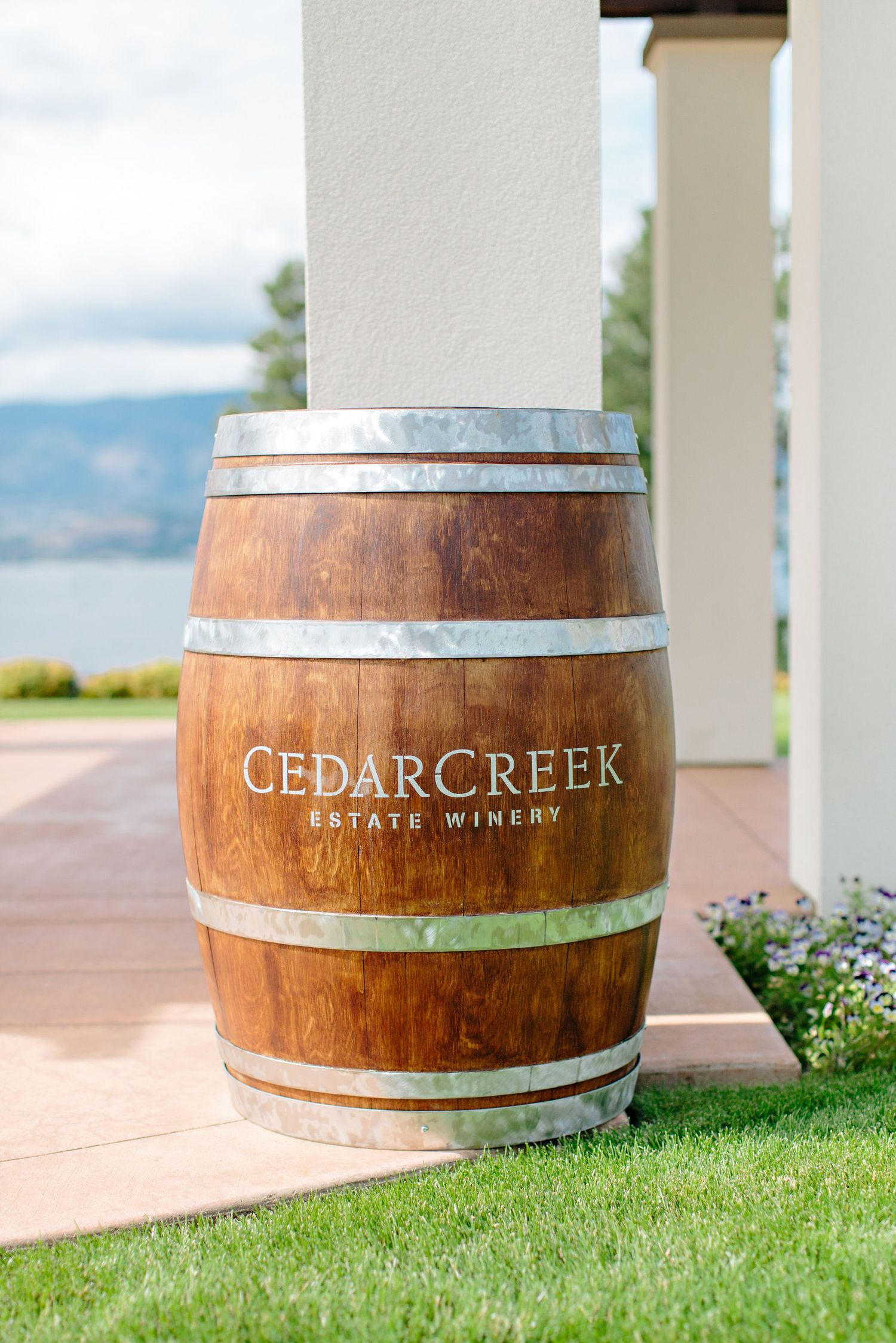 CedarCreek Winery wine barrel