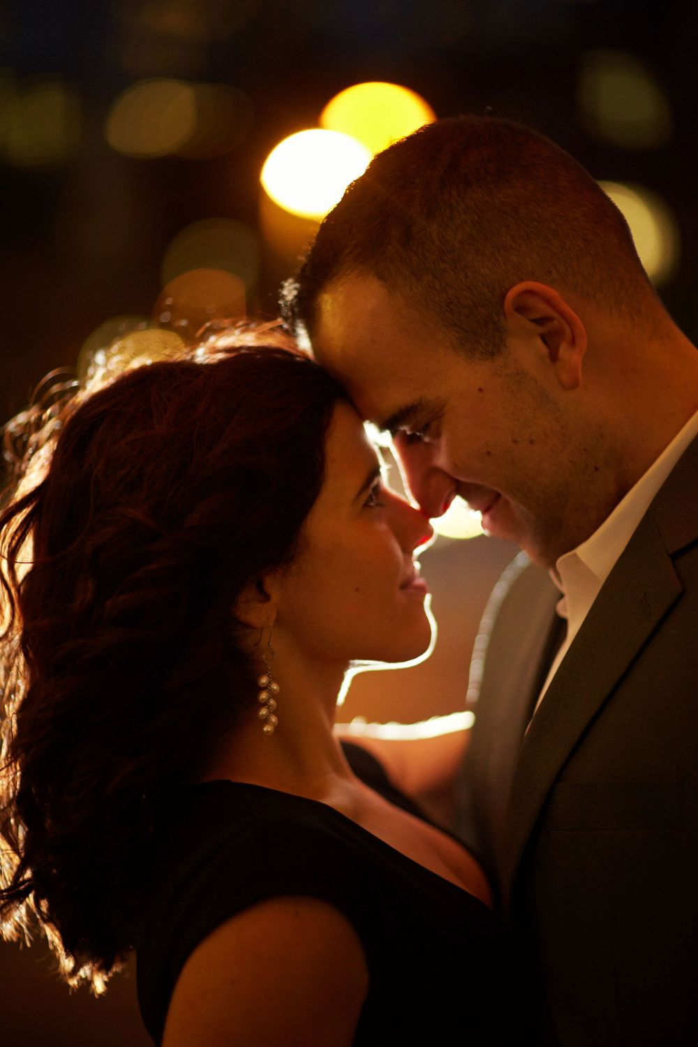 Engagement session on a summer night in Massachusetts at Boston Harbor