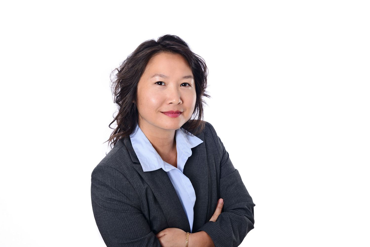 White background corporate headshot