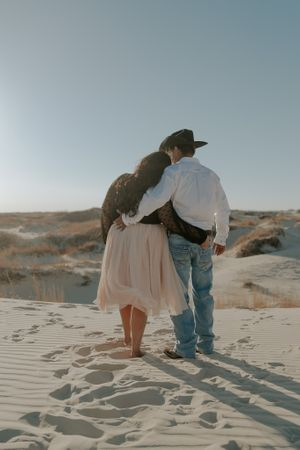 Engagement Session - Monahans Sandhills State Park | The Roaming Coyote, West Texas Photographer