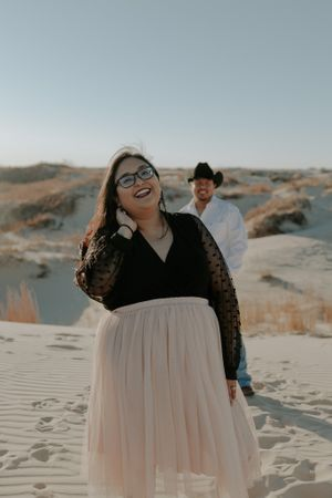 Elopement - Monahans Sandhills State Park | The Roaming Coyote, West Texas Photographer