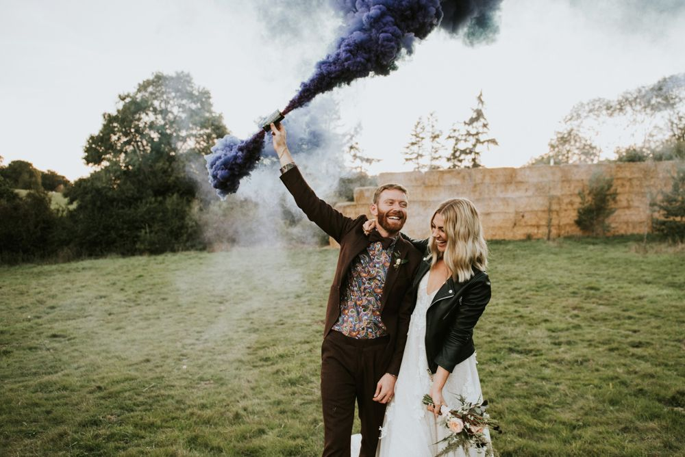 Best Smoke Bomb Photography - Rosie Kelly Photography