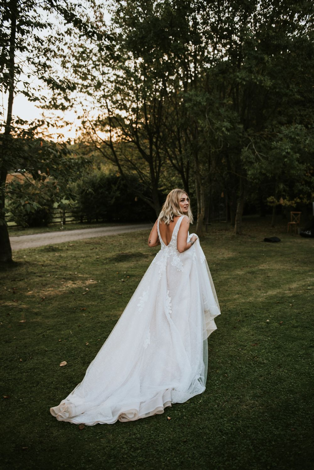 Bridal goals - The Copse Wedding Venue - Rosie Kelly Photography