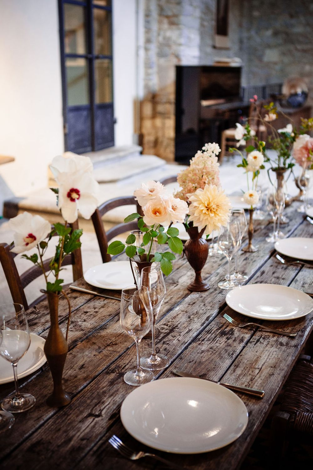 Italian wedding flower inspiration