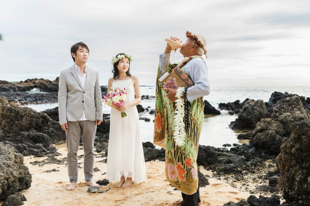 traditional Hawaiian ceremony
