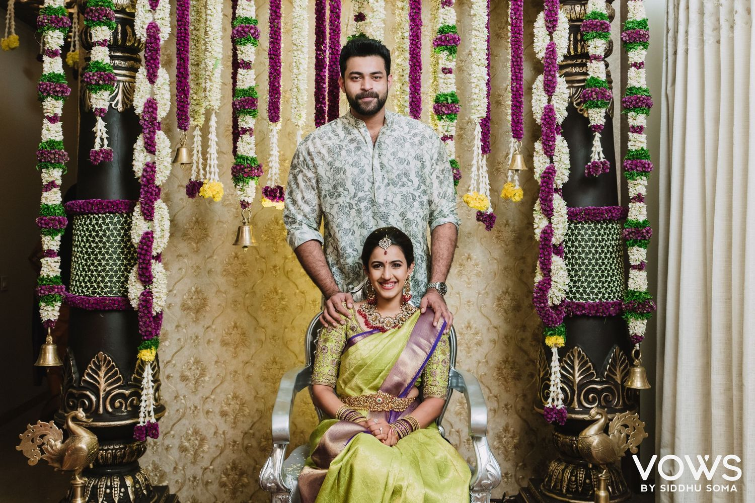 niharika wedding photos, best wedding photographer | vows by siddhu soma