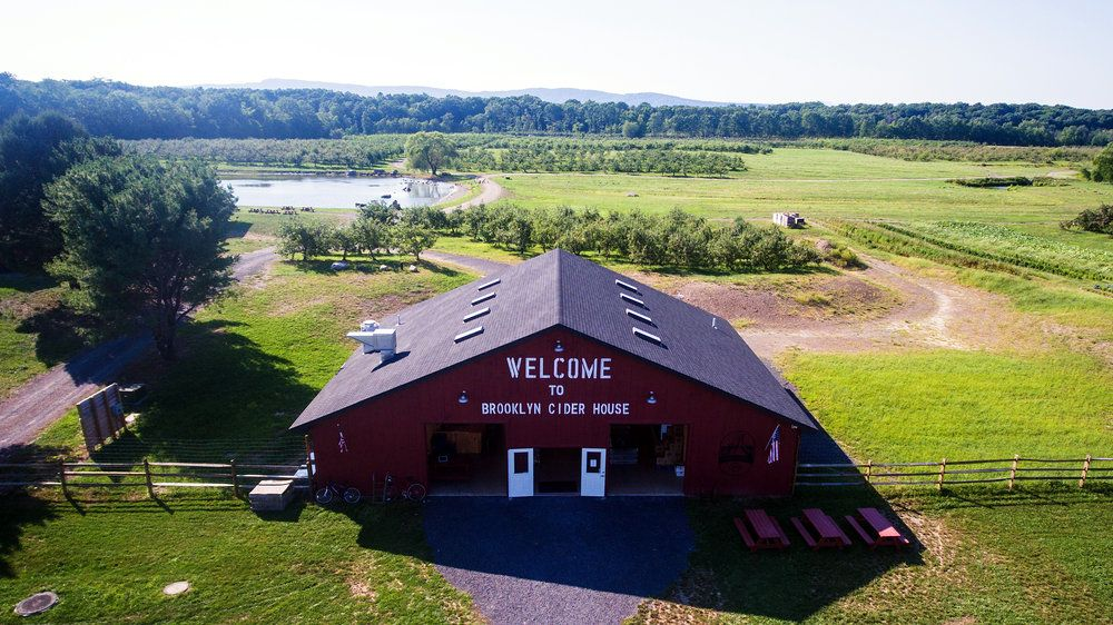 Brooklyn Cider House at Twin Star Orchard in New Paltz, New York