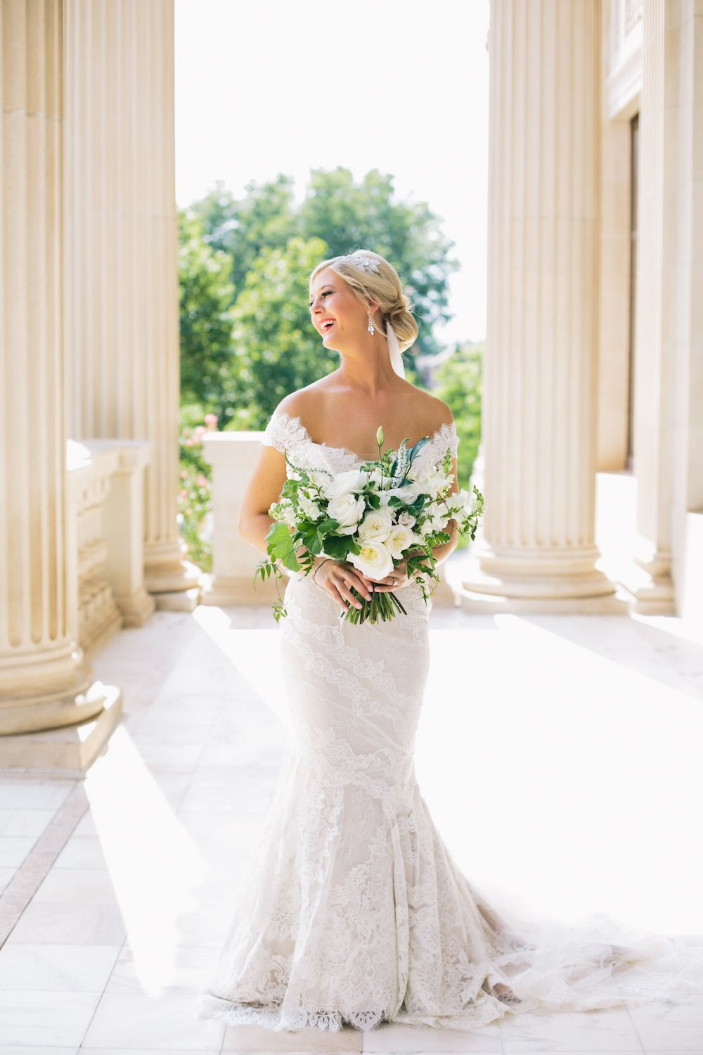 Aaron Snow Photography Oklahoma Wedding Photographer Bride Bridal Portraits Hall of Fame Boone Pickens Abby Lightfoot