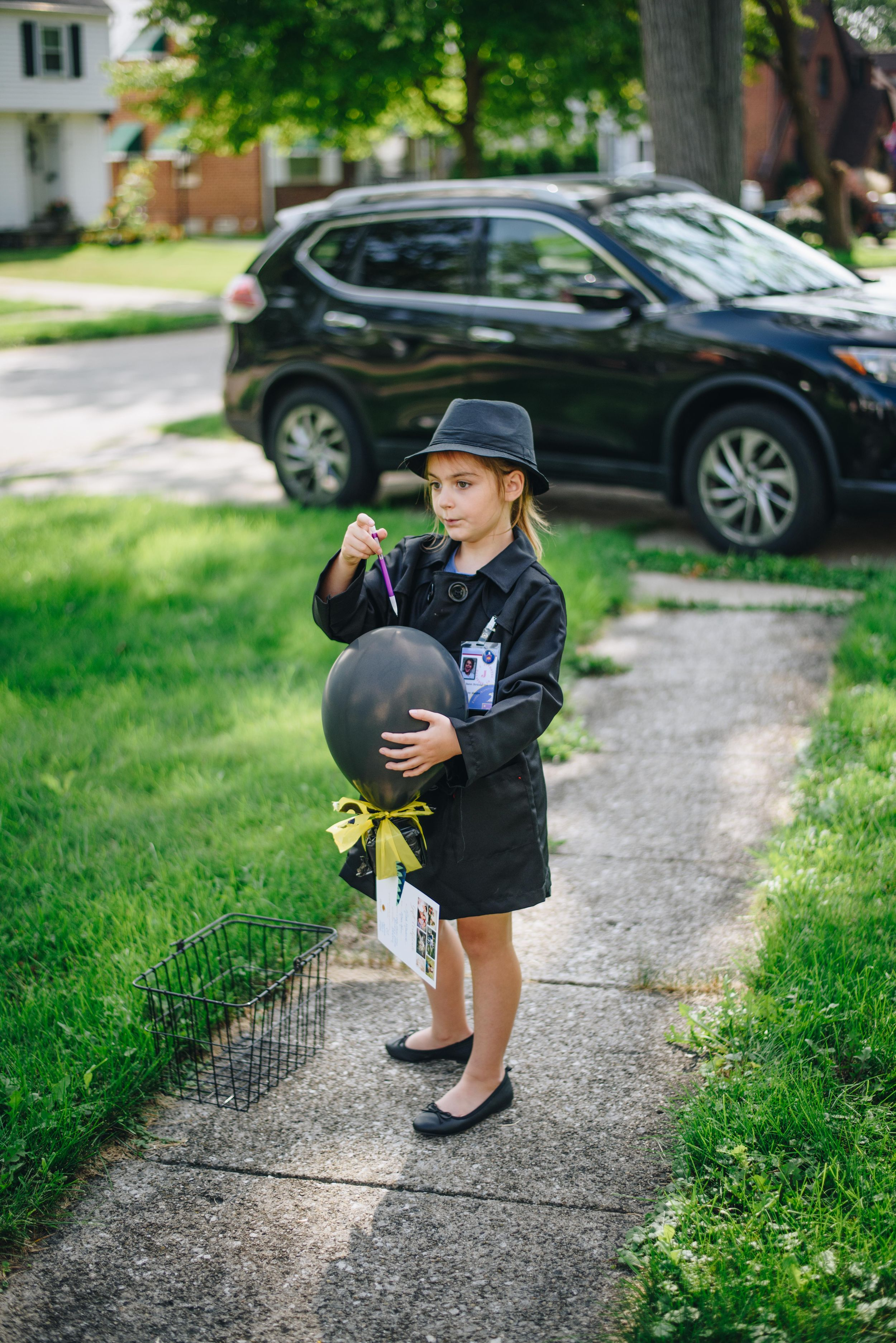 cleveland photography, covid birthday, secret agent scavenger hunt, kids parties