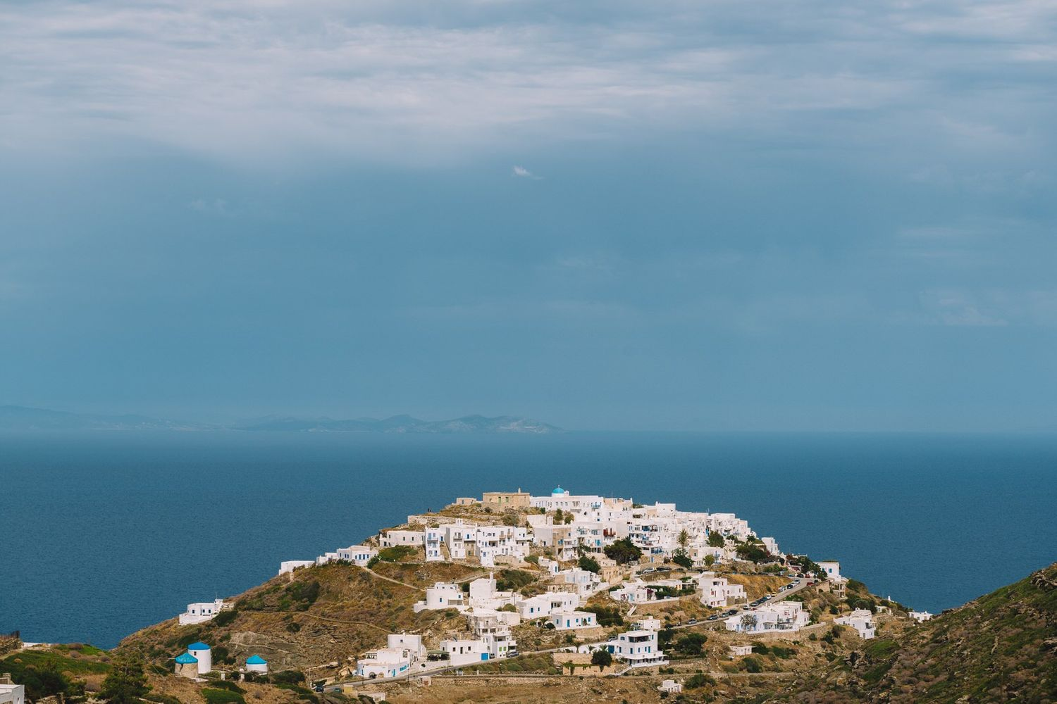 kastro in sifnos island