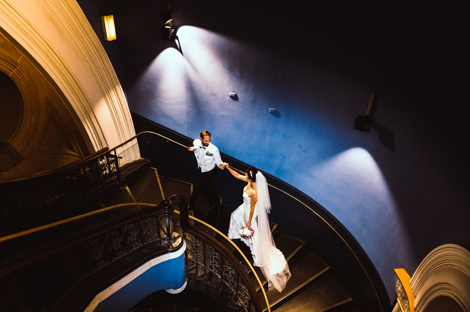 QVB Wedding Stairway