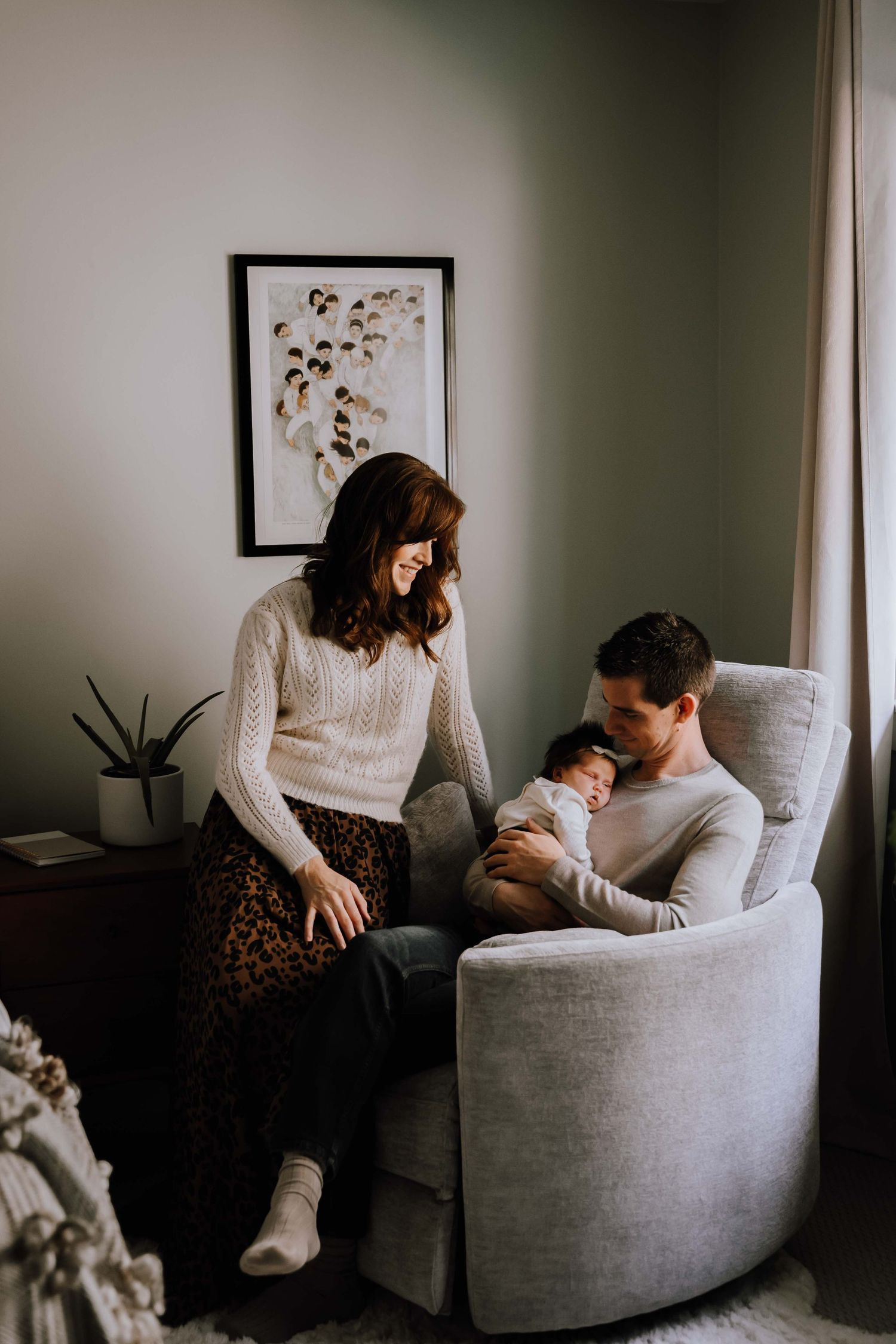 Robyn and Family, Kelowna newborn photos | Anna Kova Photography