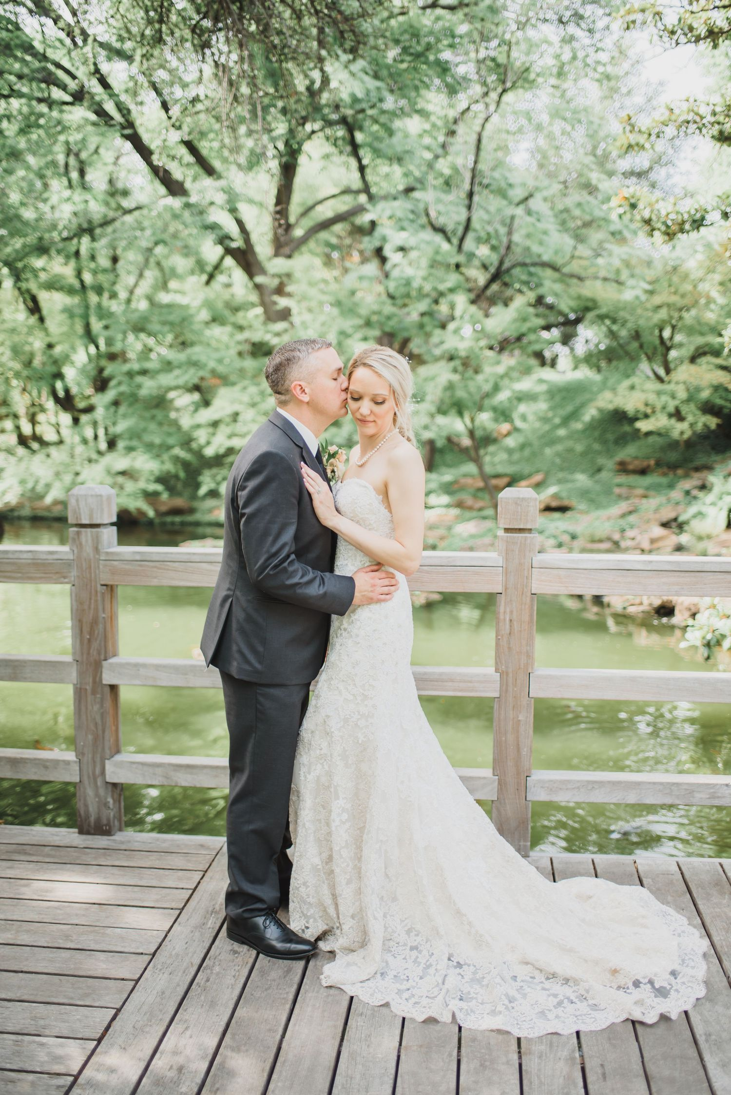 wedding at The Japanese Garden — Fort Worth Botanic Garden